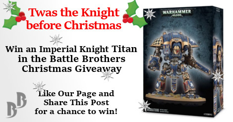 Imperial Knight giveaway competitiion