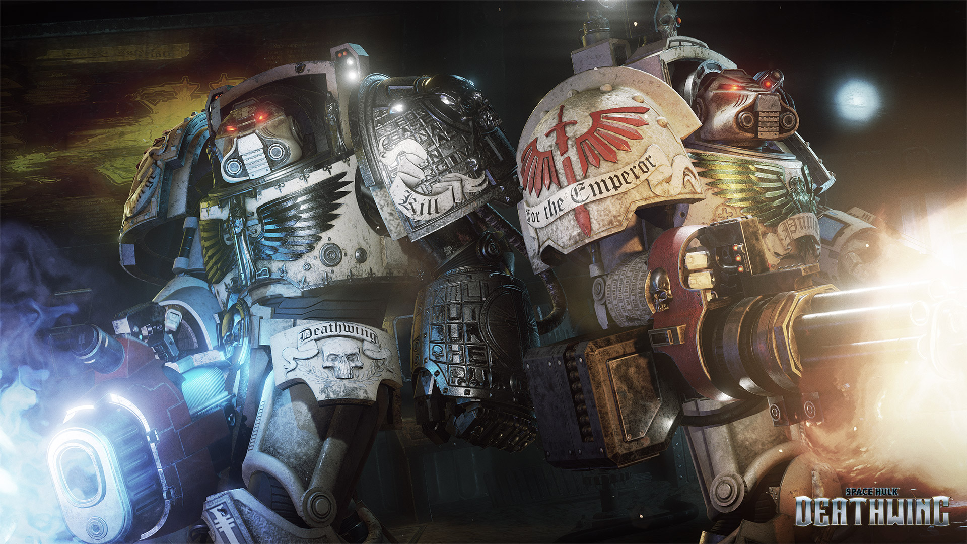 space hulk deathwing terminators back to back