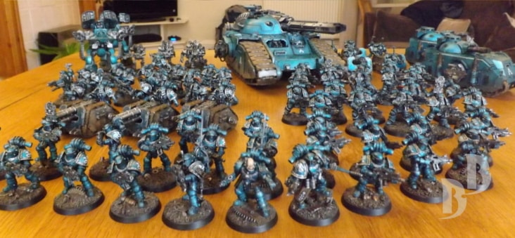 Alpha Legion 30k Army