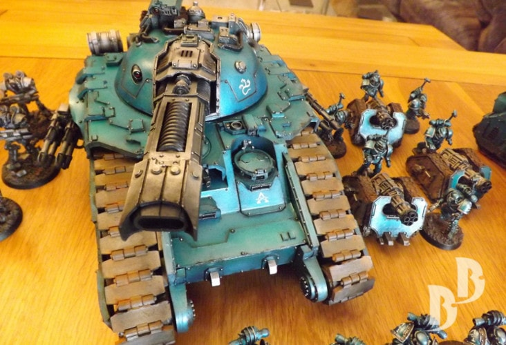 Alpha Legion Army with Glaive