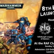 new Edition Warhammer 40,000 Launch Party