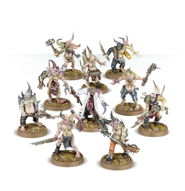 Death Guard Poxwalkers