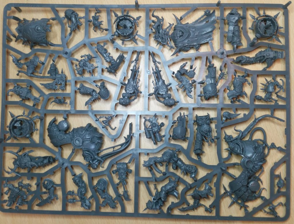 Plague Marines and Foetid Bloat Drone Sprue