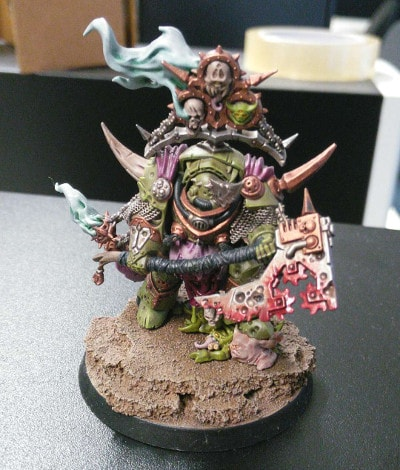 Finished Death Guard Lord of Contagion