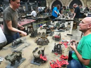 Gav vs Craig at Warhammer World