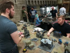 Kieran vs Ian at Warhammer World