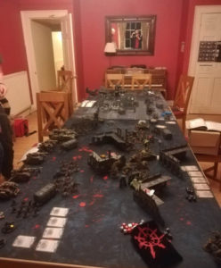 Space for gaming tables is important!