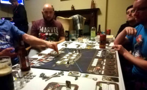 playing Battlestar Galactica