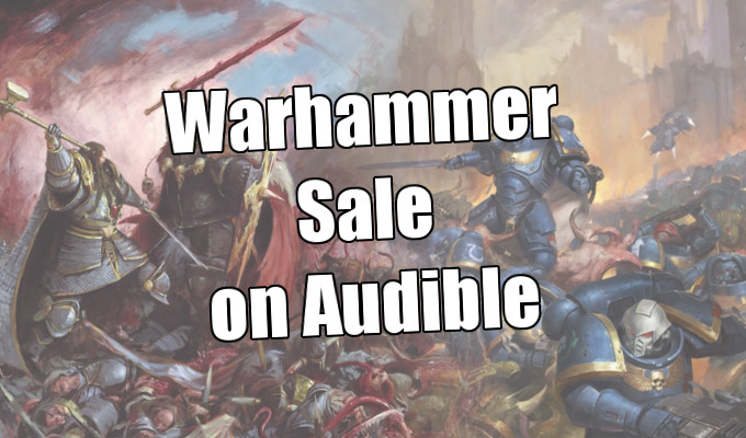 warhammer sale on audible